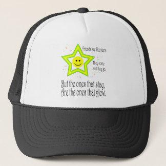 Friendship Quote Smileys Trucker Hat