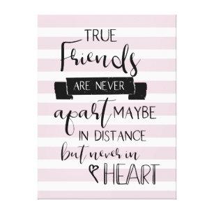 Friendship Quotes Canvas Art & Prints | Zazzle