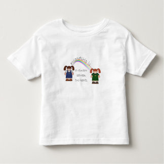 Friendship Rainbow Toddler T-shirt