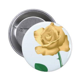 Friendship Rose Button