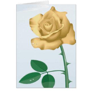 Friendship Rose Greeting Card