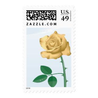 Friendship Rose Postage Stamps