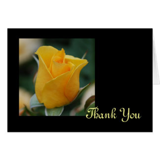 Friendship Rose Thank You Card