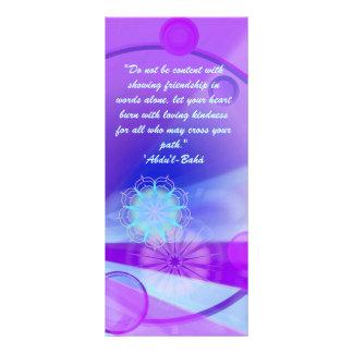 Friendship Ruhi quote Rack Card