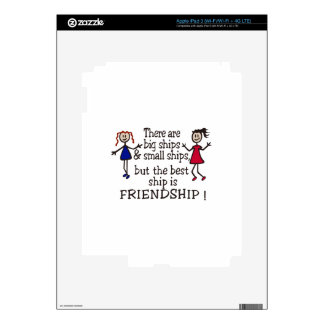 Friendship Decals For iPad 3