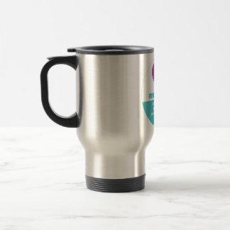 Friendship soul & body quote designed travel mug
