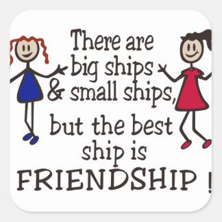 Friendship Square Sticker