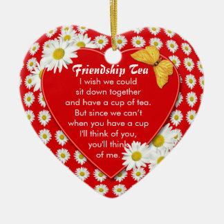 Friendship Tea Recipe Ornament