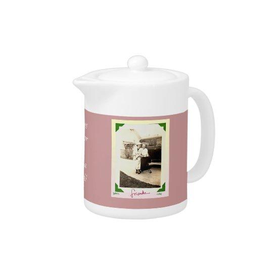 Friendship teapot
