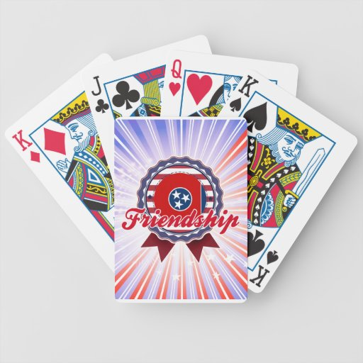 Friendship, TN Playing Cards