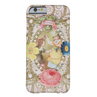 Friendship, Valentine card, c.1870 (colour litho o Barely There iPhone 6 Case