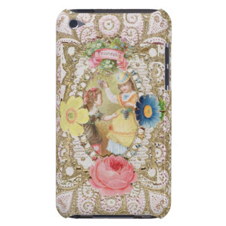 Friendship, Valentine card, c.1870 (colour litho o Case-Mate iPod Touch Case