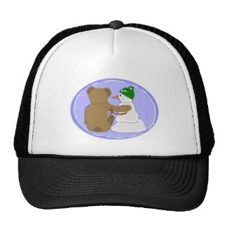 Friendship Winter Buds Trucker Hat