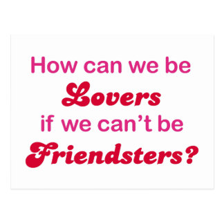 Friendster - How Can We Be Lovers Postcard