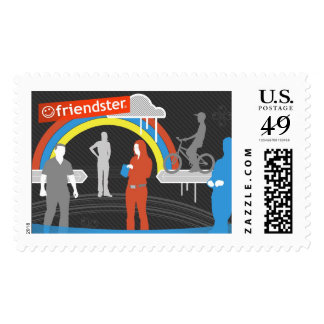 Friendster - See Who's On Postage