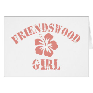Friendswood Pink Girl Cards