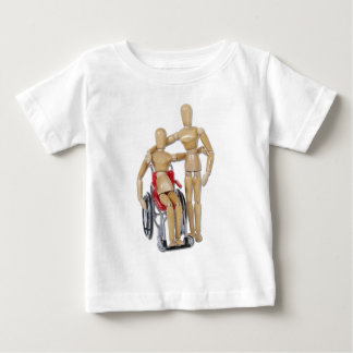 FriendWithWheelchair Baby T-Shirt