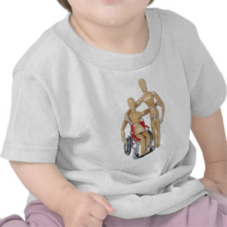 FriendWithWheelchair Camisetas