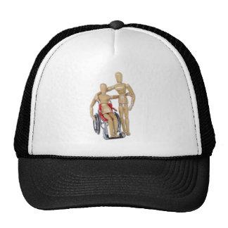 FriendWithWheelchair Trucker Hat