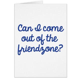 Friendzone Card