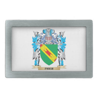 Frier Coat of Arms - Family Crest Rectangular Belt Buckles