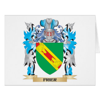 Frier Coat of Arms - Family Crest Greeting Cards