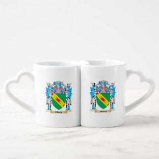 Frier Coat of Arms - Family Crest Couples' Coffee Mug Set