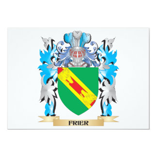 Frier Coat of Arms - Family Crest Personalized Invitations