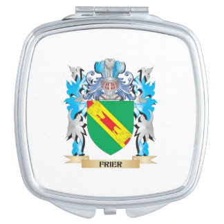 Frier Coat of Arms - Family Crest Makeup Mirrors