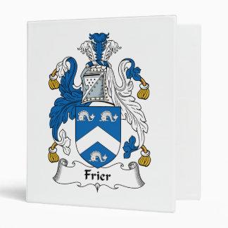 Frier Family Crest Binders
