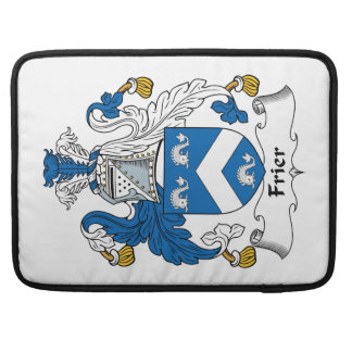Frier Family Crest Sleeves For MacBook Pro