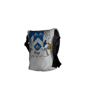 Frier Family Crest Courier Bags