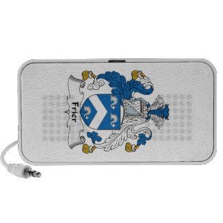 Frier Family Crest Notebook Speaker