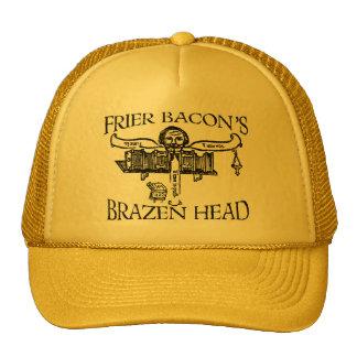 Frier (Friar) Bacon's Brazen Head- Dark Lettering Trucker Hat