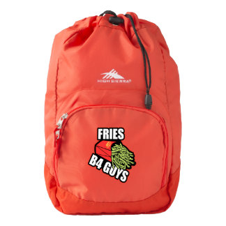 Fries Before Guys Backpack