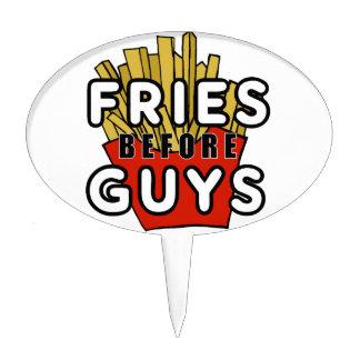 Fries before guys cake topper