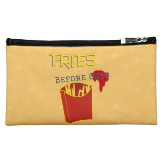 Fries Before Guys Clutch Bag Cosmetic Bags