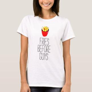 Fries Before Guys Ladies Top