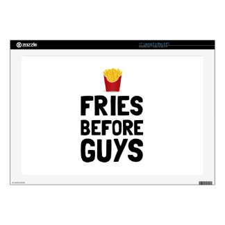 Fries Before Guys Laptop Decals