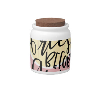 FRIES BEFORE GUYS, sassy shirts, sassy accessories Candy Jar