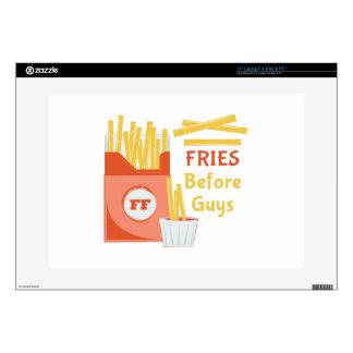 "Fries Before Guys Skin For 15"" Laptop"