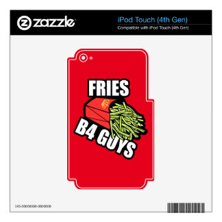 Fries Before Guys Skin For iPod Touch 4G