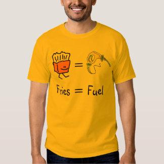 fries equal fuel tee shirt