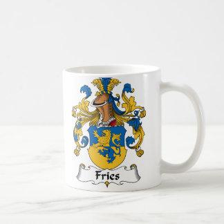 Fries Family Crest Classic White Coffee Mug