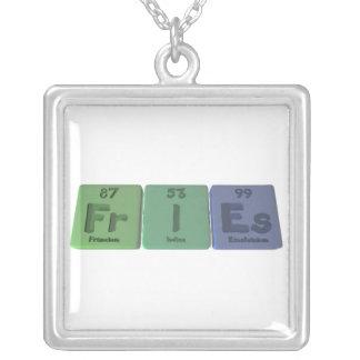 Fries-Fr-I-Es-Francium-Iodine-Einsteinium.png Colgante Cuadrado