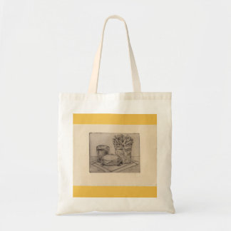 Fries 'n burger bag! tote bag