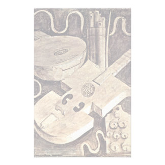 Fries With Grisaille Frescoes On The Arts Personalized Stationery