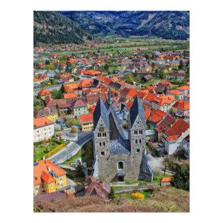Friesach, Austria Letterhead