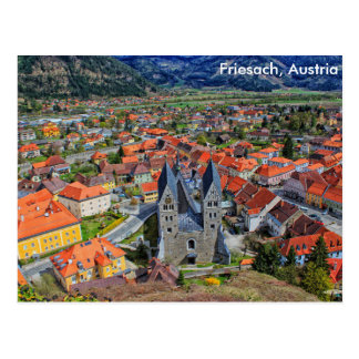 Friesach, Austria Postcard