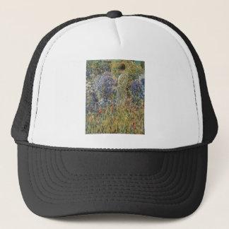 Frieseke Lady In A Garden Trucker Hat